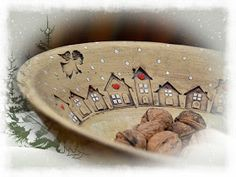 Keramika u Lavender Lavander, Clay Design, Xmas, Christmas, Dinnerware, Serving Bowls, Glaze, Pottery Ideas, Sculpture