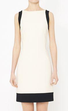 Dolce & Gabbana Cream And Black Dress