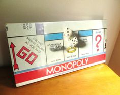 Unopened Vintage 1961 Monopoly Board Game, NIB Monopoly Game, Collectible Game
