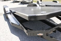Tilt Bed Trailers - We can special order any size trailer to fit your needs! Tilt Trailer, Trailer Diy, Trailer Plans, Trailer Build, Trailer Hitch, Utv Trailers, Car Hauler Trailer, Custom Trailers, Equipment Trailers