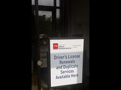 Tennessee Driver's License Renewal Available at Clarksville City Hall