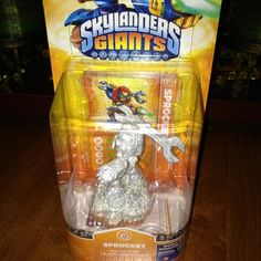Skylanders Giants White Glitter SPROCKET