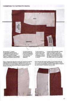 ΠΩΣ ΡΑΒΟΥΜΕ ΦΟΥΣΤΑ - Ραπτική για Όλους Skirt Patterns Sewing, Crochet Crafts, Fashion, Moda, La Mode, Fasion, Fashion Models, Trendy Fashion