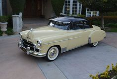 1950 Chevrolet Styleline for sale - Classic car ad from CollectionCar.com.