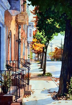 Watercolor by Mick Williams