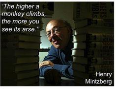Henry Mintzberg - spot on a usual