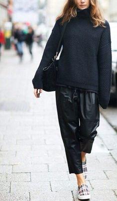 Street style / Celine skate plaid sneakers