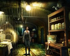 Gray Matter Game Review: Gray Matter is a point & click adventure game. It was designed by Jane Jensen, widely known for the Sierra Entertainment Gabriel Knight series. Gray Matter was developed by Wizarbox. It was published by dtp entertainment.  Full Game Gray Matter Free Download LINK:   Gray Matter Download Free Full Version PC Game
