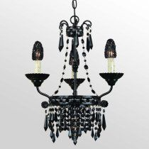 AF Lighting Savoy Candle Base Mini Chandelier, Black with Bulb Covers, Black Glass Beads and crystals Black Chandelier, Chandelier Lighting, Room Lights, Ceiling Lights, Million Dollar Homes, Black Glass, Home Lighting, Victorian Fashion, Decorative Accessories