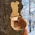 Voerhuis voor eekhoorntjes Al gauw de drukste speelplaats in uw tuin.