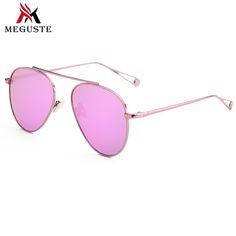 $7.79 (Buy here: https://alitems.com/g/1e8d114494ebda23ff8b16525dc3e8/?i=5&ulp=https%3A%2F%2Fwww.aliexpress.com%2Fitem%2FMeguste-2016-outdoor-Classic-gray-Lenses-Aviation-Sunglasses-Women-Brand-Designer-Mirror-Eyewear-Shades-Men-Sun%2F32732710196.html ) Meguste outdoor oculos aviador pink espelho Lenses Sunglasses Women Brand Designer Mirrored Eyewear, Men Sun Glasses vintage. for just $7.79
