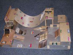 Scott's Homemade Tech Deck Skatepark