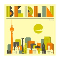 Berlin Cityscape A1 Framed Print ($155) ❤ liked on Polyvore featuring home, home decor, wall art, cityscape wall art, skyline wall art, white wall art and white home decor