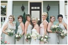Rustic Wedding Ideas: different color dress for the maid of honor!  via smitten magazine photography by By Shea