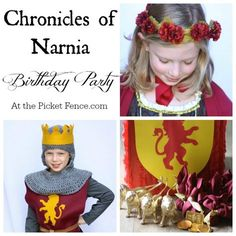 Fantastic ideas and inspiration for a Chronicles of Narnia Birthday Party! At the Picket Fence.com