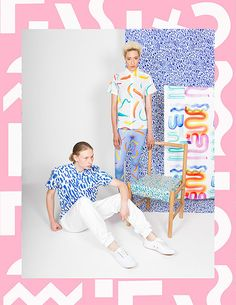 Sight Unseen and Print All Over Me collection