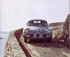 hellformotors: Porsche 356 at the 1960 Tour de Corse
