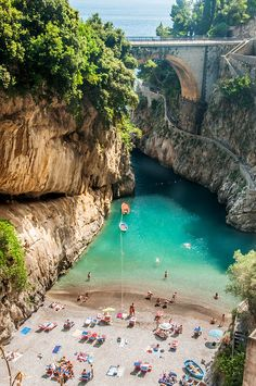 Canyon of Furore, Amalfi Coast, Italy 23June2012 | Flickr - Photo Sharing!