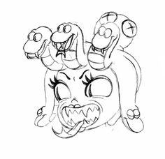 """jake-clark:  """"  Here, take this giant detached Cala Maria head  It's on the house  """""""