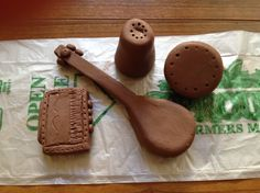 Clay Miniature musical Insturments