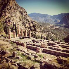 Temples at Delphi