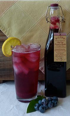 Ann Whitman explains how to make fruit syrups from raspberries, blueberries and other summer-fresh fruit.