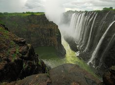 """Victoria Falls is the adrenaline capital of the world! I have been there twice and loved every moment of it."" —Mick Pletcher"