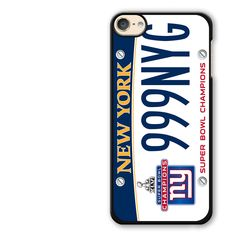 New York Super Bowl Champions iPod Touch 6 Case