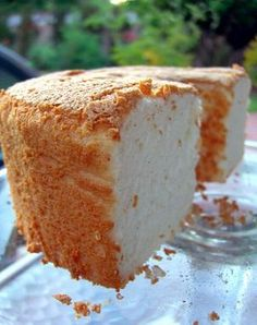 This is the angel food cake recipe I use and it's absolutely amazing! So easy, so fluffy, so good!