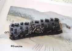 FRANCINE BRICOLE : Bracelets pneus ,  fermetures éclair recyclés et b...