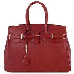 New Tuscany Leather - TL Bag - Leather handbag golden hardware - (Red) online shopping - Toptrendygroup - Lilly is Love Summer Handbags, Fall Handbags, Sac Mac Douglas, Italian Leather Handbags, Frame Bag, Handmade Handbags, Jane Birkin, Evening Bags, Leather Bag