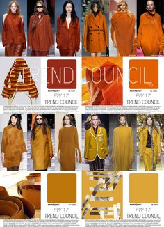 Tendencias : Trend Council is excited to present the FW17 Key Fashion Color Report. The color professionals at TREND COUNCIL have synthesized the international runways to predict key color expressions to make accurate color choices for your future design development.  (#684720)