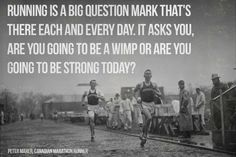 Will You be Strong Today? | running quotes