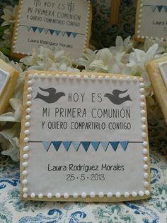 Galletas para comuniones de Garden Party (Málaga)