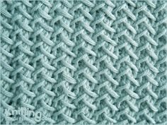 Fancy Herringbone |  Knitting Stitch Patterns