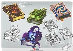 ArtStation - The book design, yiteng luo: