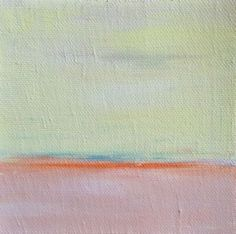 Zenscape - 1 - minimalist oil paintings by Judy Jacobs