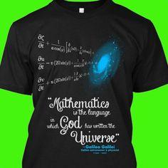 Math...God...Universe
