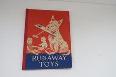 Vintage Runaway Toys 1st Edition 1940s Pre by shabbyshopgirls