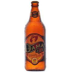 Cerveja Brasileira Light Lager Dama Bier Blonde Lady 600ml