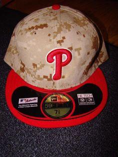New Era  MLB Philadelphia  Phillies Digital Camo Red Marpat  Baseball Cap  Hat 7 1 2 from  29.99 95ce7d8b84bd