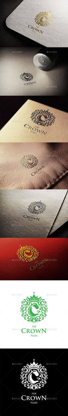 The Crown Plaza Logo — Vector EPS #unique #real estate • Download here → https://graphicriver.net/item/the-crown-plaza-logo/11281686?ref=pxcr