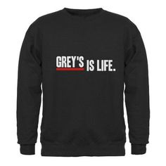 Grey's anatomy Greys Anatomy Gifts, Grays Anatomy, Grey's Anatomy Clothes, Grey's Anatomy Merchandise, Meredith Grey Quotes, Black Scrubs, Summer School Outfits, Youre My Person, Sweater Weather