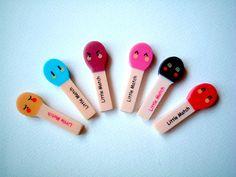 Kawaii Cute Little Matches Erasers