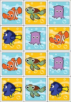 Stickers, Finding Nemo, Stickers - Free Printable Ideas from Family… 6th Birthday Parties, Camping Crafts, Finding Nemo, Baby Shower Printables, Stickers, Free Printable, Preschool Crafts, Invites, Invitation