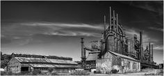 The remains of the Bethlehem Steel Company (BW)