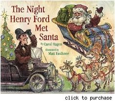 Henry Ford and Santa conspire on new book