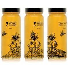 HONEY — мёд (Концепт) / Проект: HONEY/Автор: Дарья Сапожникова Концепт-дизайн оформления упаковки мёда.