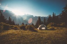 Camping in Tibet. MSR Hubba Hubba NX - a perfect tent for solo travelers