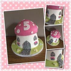 Fairy House Cake Fairy House Cake, Cakes, Cake Makers, Kuchen, Cake, Pastries, Cookies, Torte, Layer Cakes